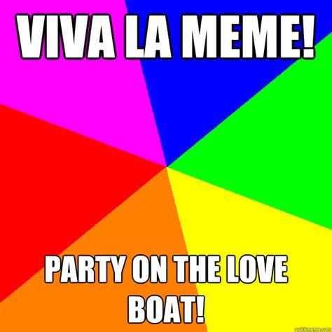 gopher love boat meme viva la meme party on the love boat stereotypical black