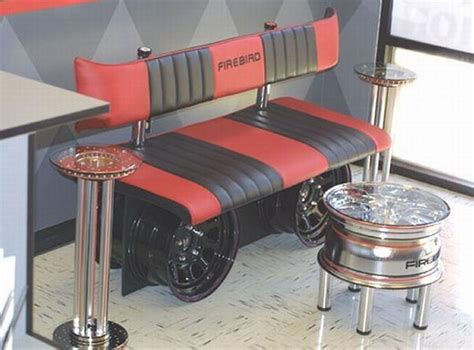 Car Furniture by Recycled Car Parts Innovative Furniture Recycled Things