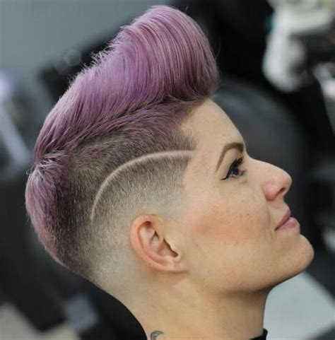 pictures of nice faded punk haircuts 133 best images about women s pompadours on pinterest