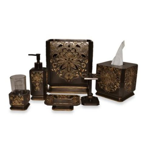 buy bronze bath accessories from bed bath beyond