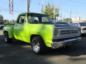 1972 dodge ram 100 1 2 ton box step side truck 318