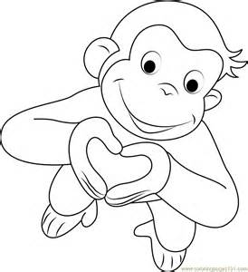 curious george coloring pages curious george coloring pages best coloring pages for