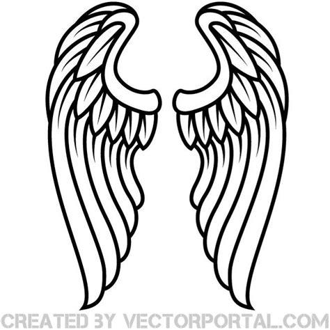 las alas del esquema vector clip art descarga en