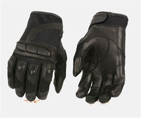 ladies motorcycle gloves women s racing leather mesh padded gloves black bikers