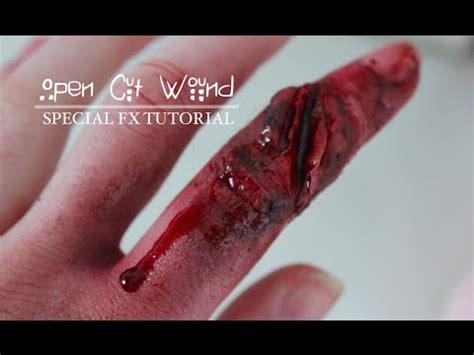 How To Cut Open A Open Cut Wound Sfx Makeup Tutorial