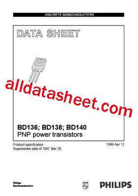 datasheet transistor bd140 bd140 datasheet pdf nxp semiconductors