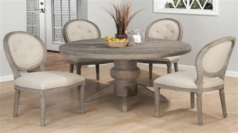 White Washed Dining Room Furniture by Round Kitchen Table And Chairs Sets Grey Dining Table