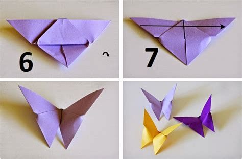 How To Make Paper Butterflies - how to make origami butterfly origami paper