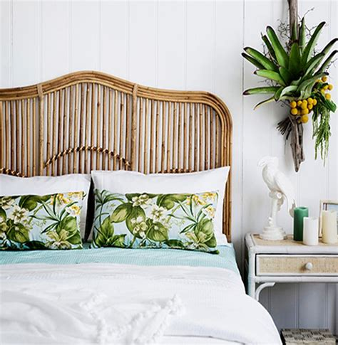 Brookhaven bedhead naturallycane rattan and wicker furniture australia home bedroom