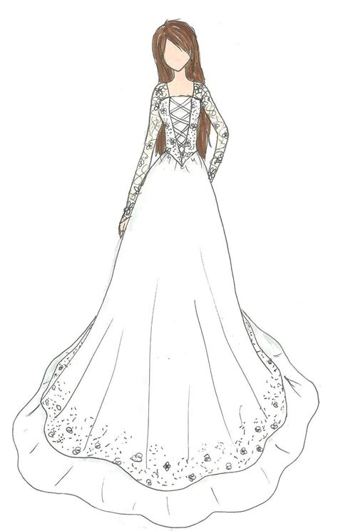 design dress wedding dress design by kiknessa on deviantart