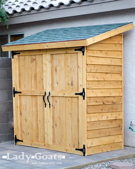 Easy To Build Storage Shed white small cedar fence picket storage shed diy