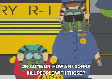 Officer Barbrady Book Report by Eric Cartman Gif By South Park Find On Giphy