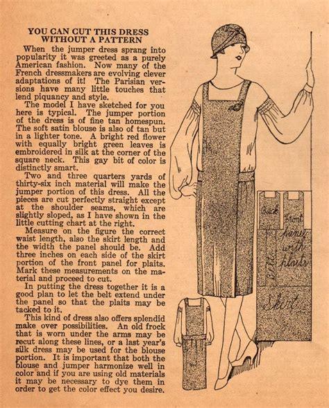 vintage pattern tips the me i saw jumper dress sewing tips 1920s vintage