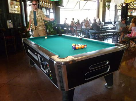 new pool table at saucer top pics paul ryburn s