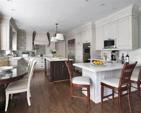 Peninsula Seating Hardwood Floors  Kitchen Kitchen