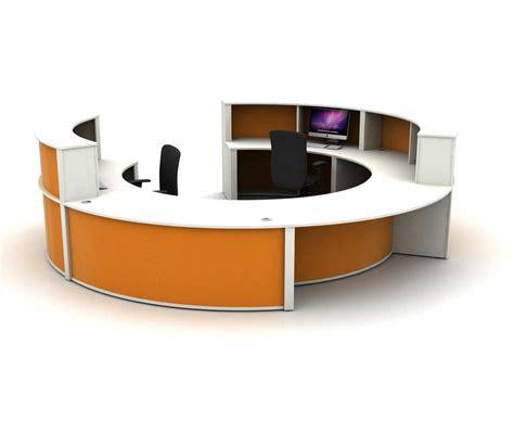 mobile reception desk mobili circular reception counter
