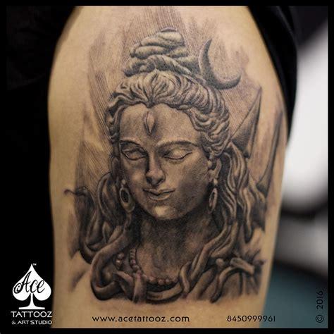 body tattoo of lord shiva lord shiva tattoo on back of body photo 1 mantra