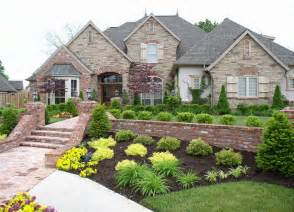 house landscaping luxury and classic house landscaping ideas free images