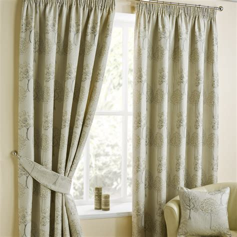 ready made drapery arden natural pencil pleat luxury ready made curtains