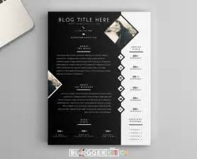 Digital Press Kit Template Free by One Page Media Kit Template Press Kit Template By Bloggerkitco