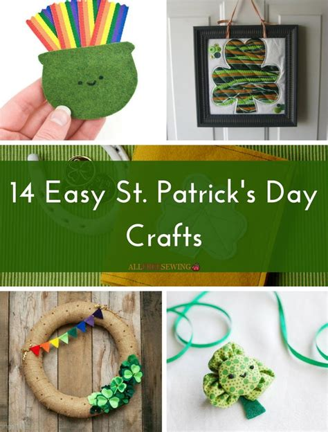 st s day craft ideas 14 easy st s day crafts allfreesewing