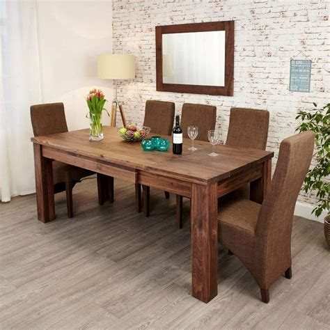 walnut dining table and chairs 20 best ideas extending dining tables and 6 chairs