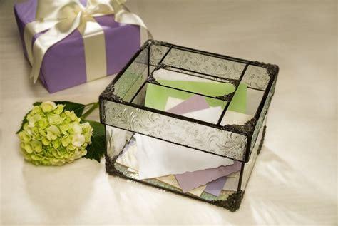 Wedding Card Glass Box by Glass Wedding Card Box