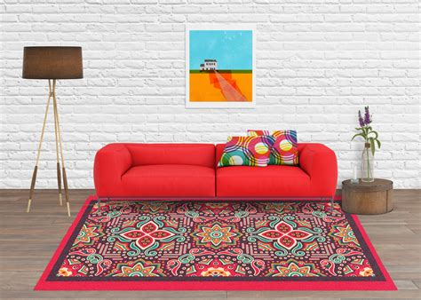 Mexican Area Rugs Area Rug Decorative Rug Mexican Rug Contemporary Rug