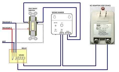Wemo Light Switch Installation by 2 Way Light Switch With Wemo Maker Wemo Community
