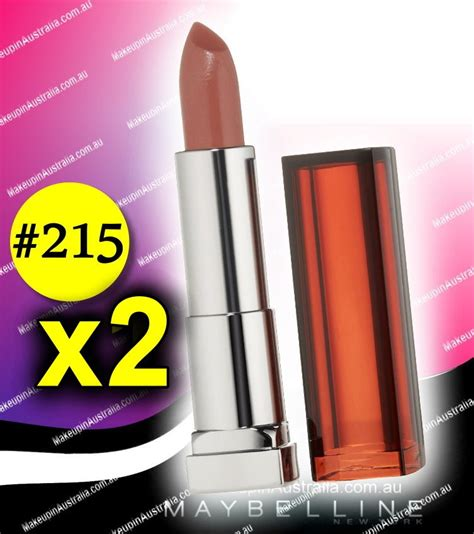 Lot of 2 - Maybelline Lipstick Color Sensational Lipstick ... 1 800 Contacts Order