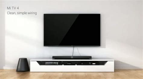 Smart Tv Xiaomi xiaomi brings thinnest led tv yet connectedwiki