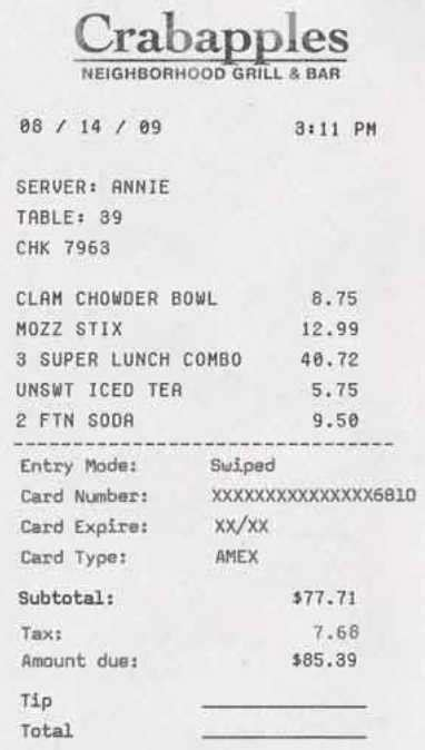 dinner receipt template expense your lavish meal with receipts business insider