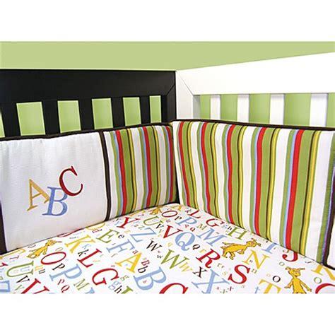 Dr Seuss Abc Crib Bedding Trend Lab 174 Dr Seuss Abc 4 Crib Bumper Set Bed Bath Beyond