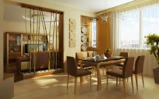 Dining Room Color Schemes by Cozy Dining Room With Brown Color Scheme Decobizz Com
