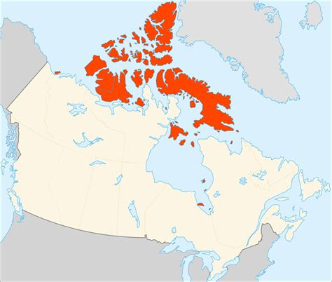 map of canada with islands file canadian arctic archipelago svg wikimedia commons