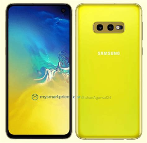 Samsung Galaxy S10 Yellow by Samsung Galaxy S10 Komt Ook In Kanariegeel Op De Markt Androidics Nl