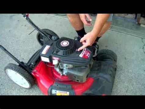 fix  starter pull rope   lawnmower honda briggs  stratton kohler mtd powermore