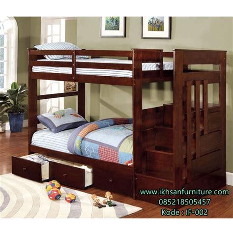 Daftar Ranjang Kayu Tingkat tempat tidur tingkat model ranjang anak susun minimalis