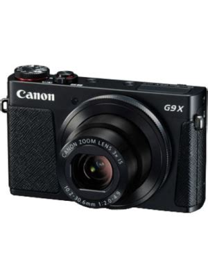 canon powershot g9x point and shoot camera(black 20.2 mp