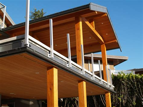 deck gutters gallery precision gutters