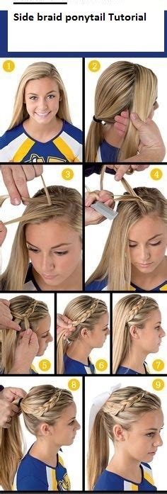 Easy Hairstyles Games   7 easy ways to do your hair for sports