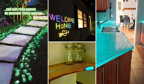 glow in the dark home decor make a glow in the dark project for home decor amazing