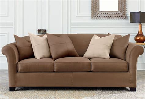 Slipcovers For Sofas With Cushions by Ultimate Heavyweight Stretch Suede Sofa Slipcover Sure Fit