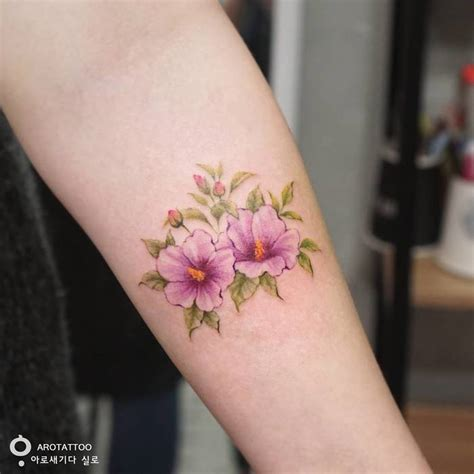 rose of sharon tattoo delicate floral designs by tattooist silo page 2