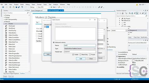 design winforms application ui design winforms modern ui metro framework vb net 2017