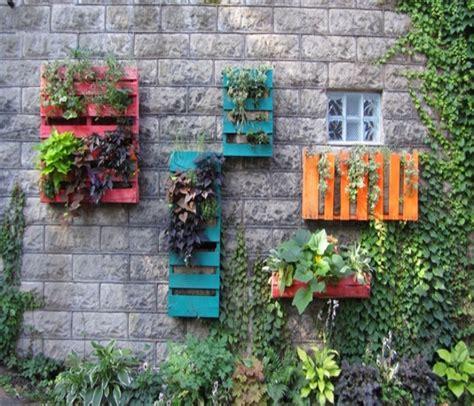 wall pallet garden pallets made wood wall planter ideas pallet ideas