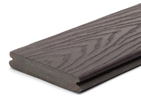 trex select woodland brown grooved  schillings