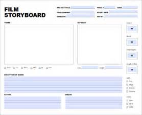 movie storyboard template 8 free word excel pdf ppt