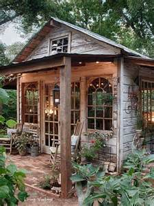 25 best ideas about rustic shed on garden