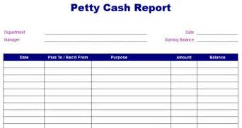 Example Resume Objective by Petty Cash Expense Report Template Best Business Template